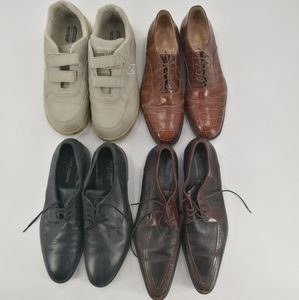 4 pairs of men's shoes reseller lot bundle